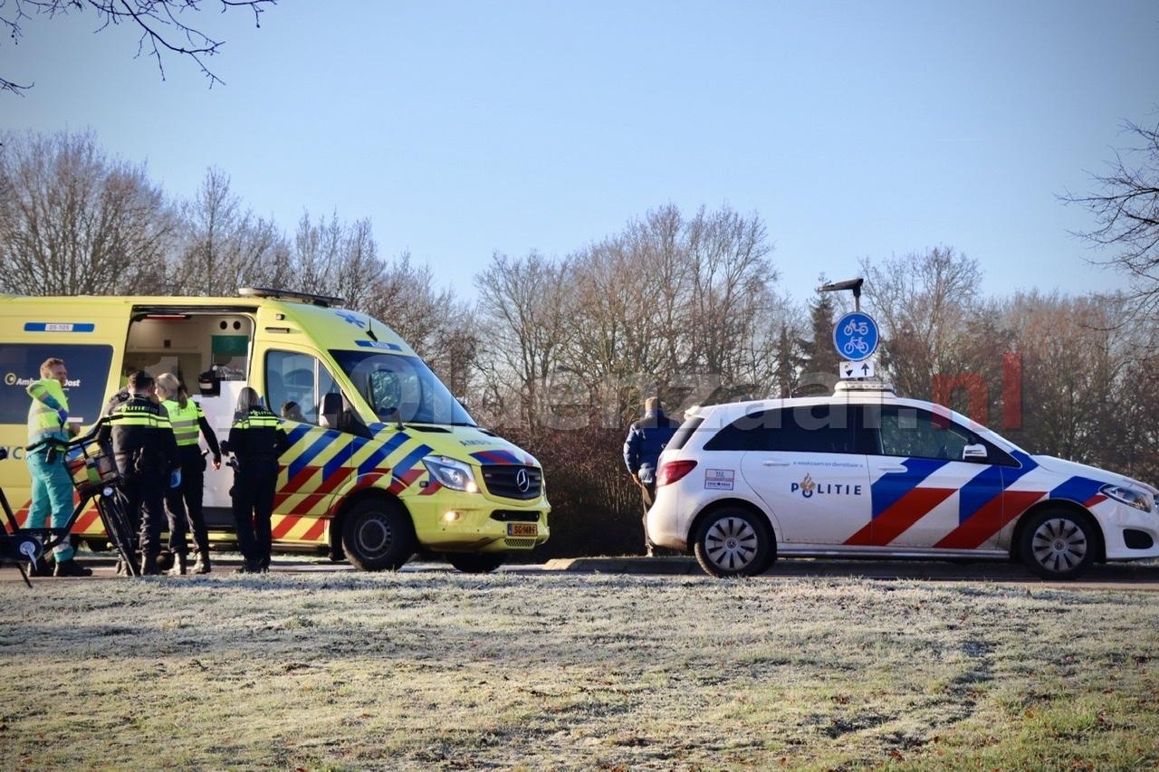 Fietser gewond aan gezicht na val in Oldenzaal