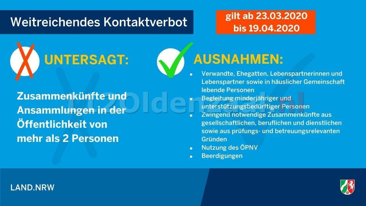 Duitsland verbiedt samenscholing van meer dan twee personen, boetes tot 25.000 euro