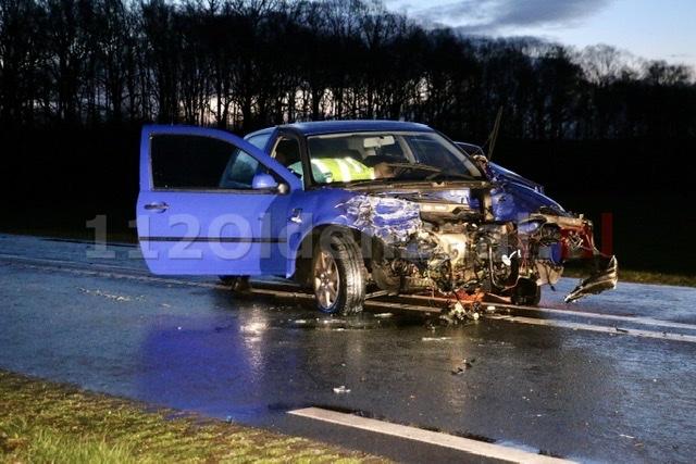 N342 tussen Oldenzaal en Denekamp deels afgesloten door ongeval