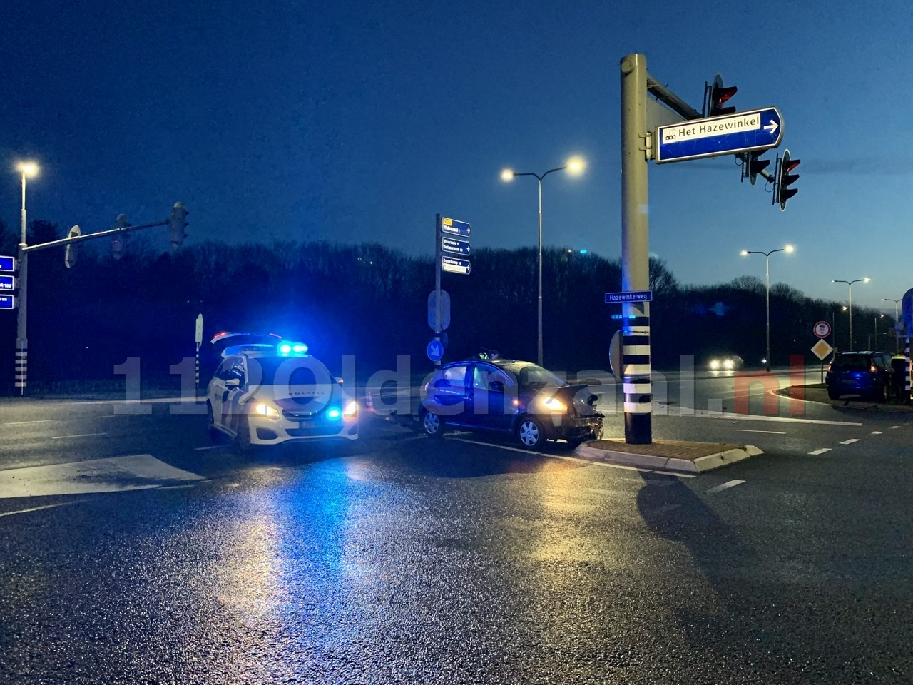 Opnieuw een ongeval op de Provinciale Rondweg N342 in Oldenzaal