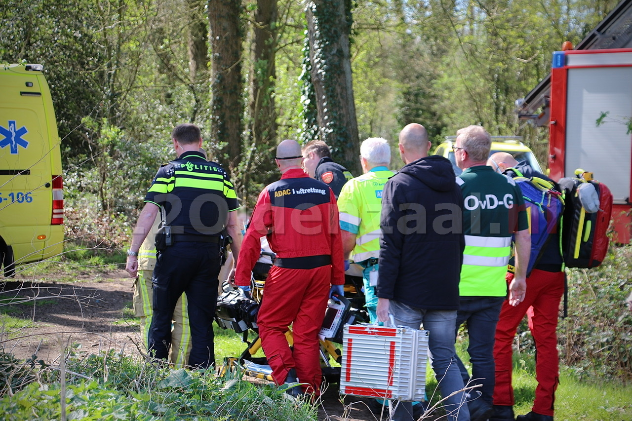 VIDEO: Traumahelikopter ingezet voor ongeval op Hulsbeek
