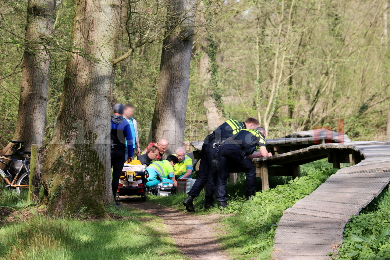 Traumahelikopter ingezet voor ongeval op Hulsbeek