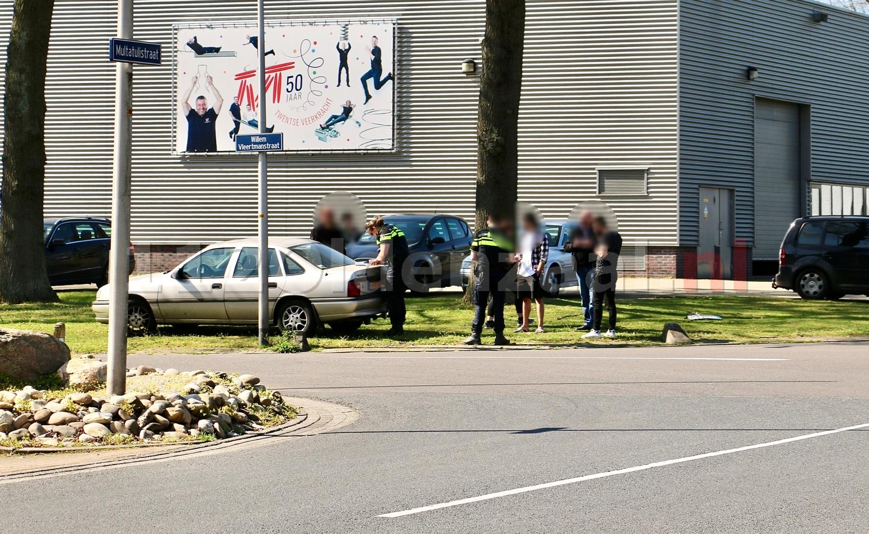 Aanrijding tussen twee voertuigen in Oldenzaal