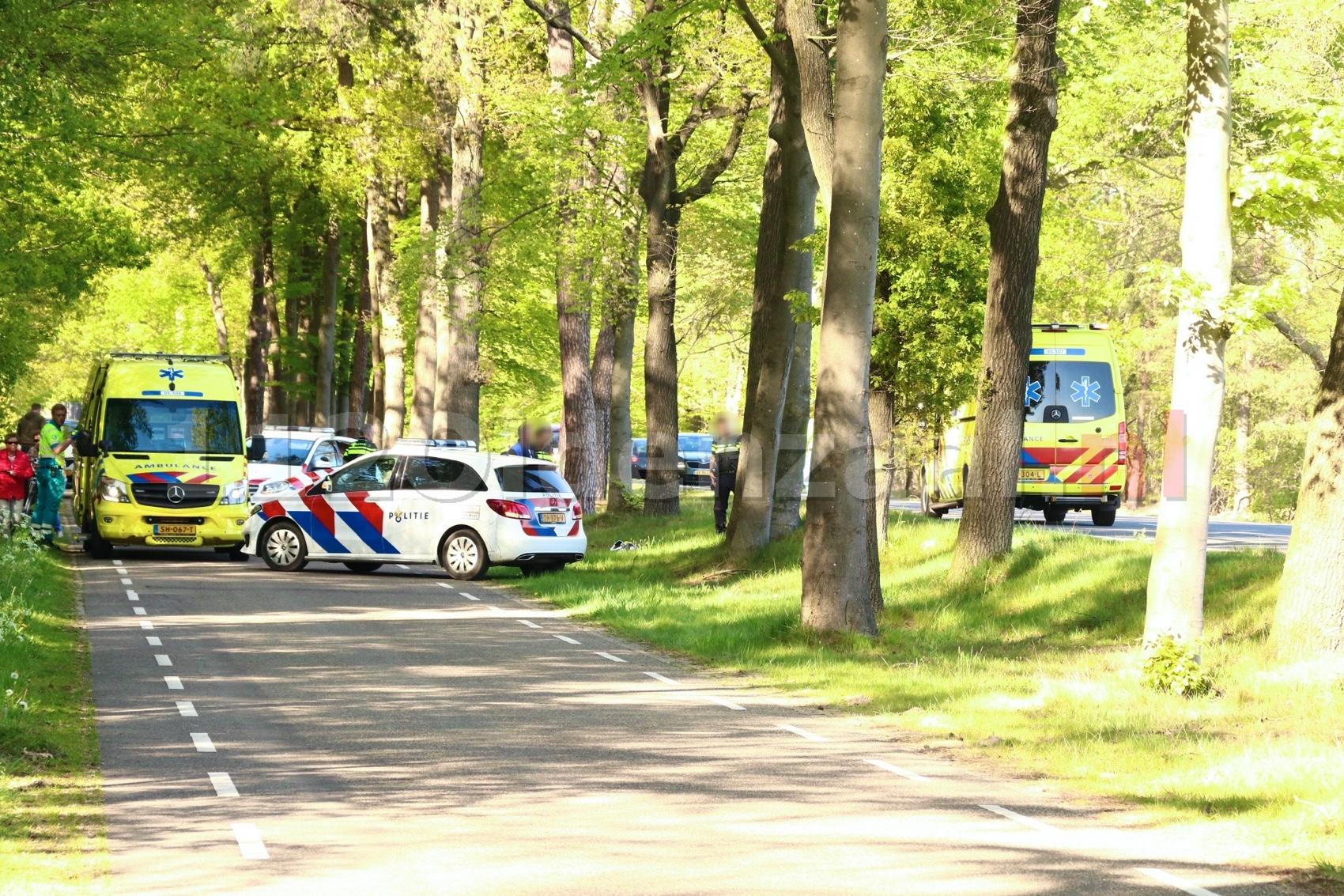 Twee personen gewond naar het ziekenhuis na ongeval met quad tussen Oldenzaal en Denekamp