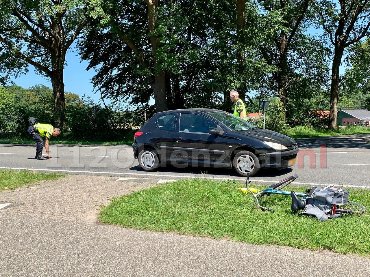 UPDATE: Politie doet uitgebreid onderzoek na ongeval met fietser tussen Oldenzaal en Losser