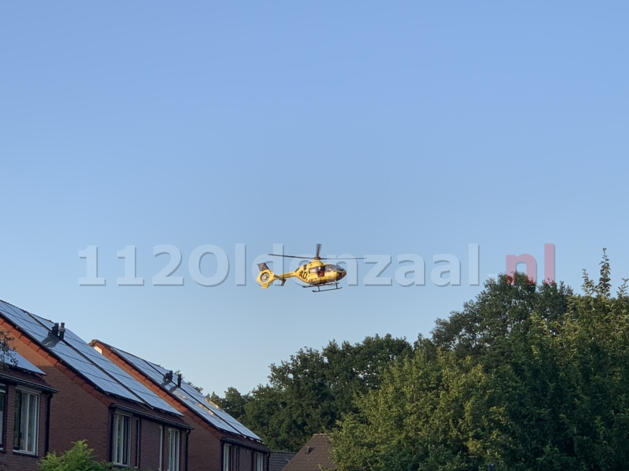 UPDATE: Traumahelikopter ingezet in Oldenzaal