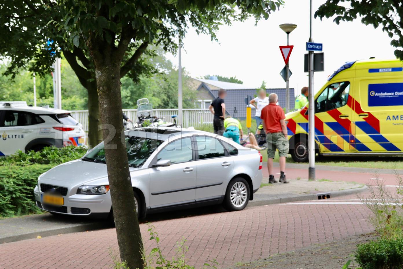 Fietsster gewond na ongeval in Oldenzaal
