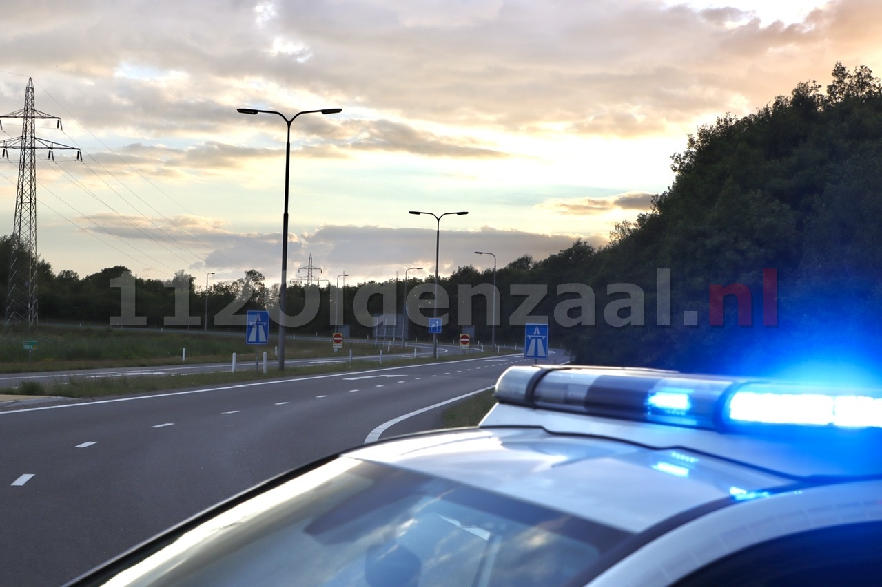 UPDATE: Oprit A1 weer open na brand
