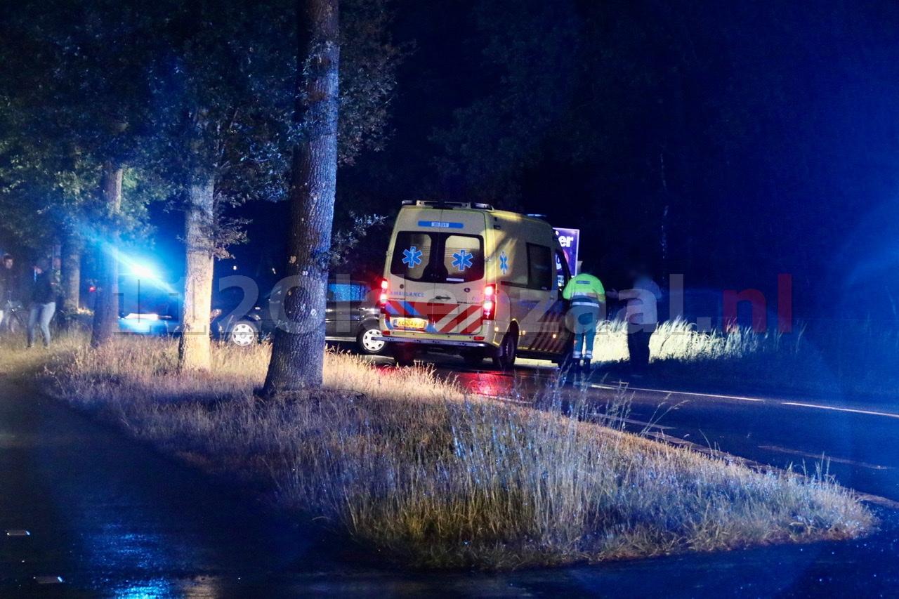 Weg tussen Oldenzaal en Rossum afgesloten in verband met ongeval