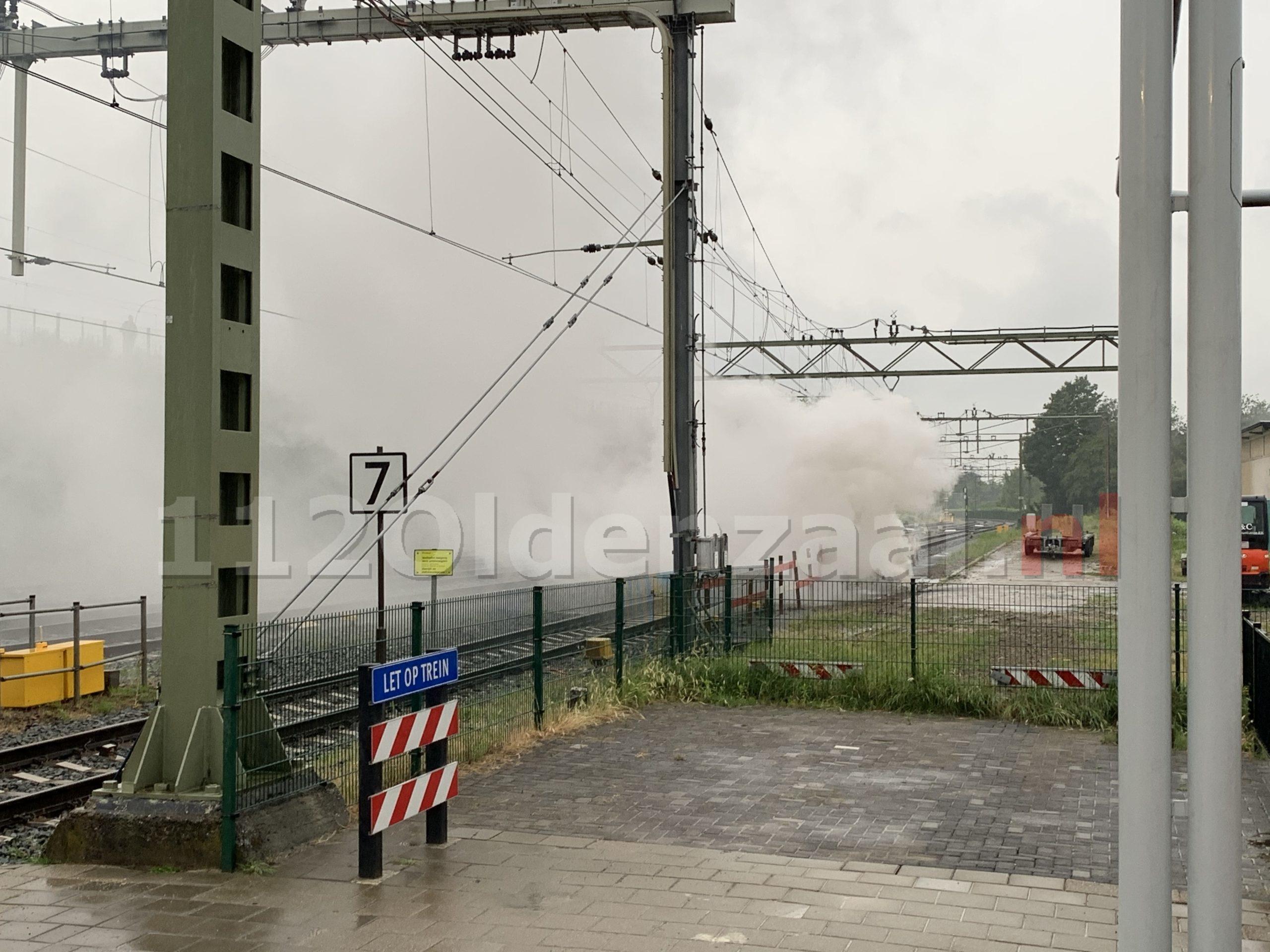 ProRail: Grote brandschade aan systemen door blikseminslag