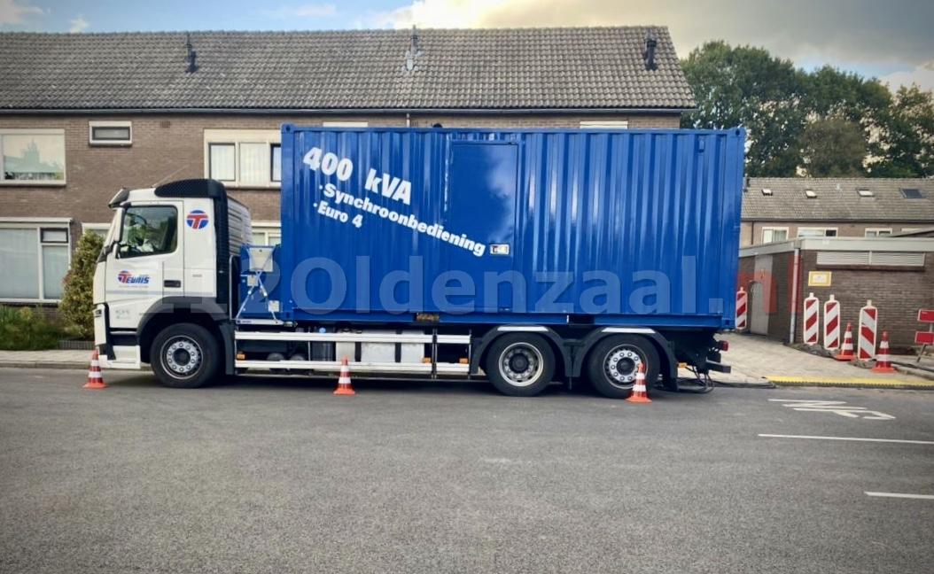 Stroomstoring wijk De Thij Oldenzaal
