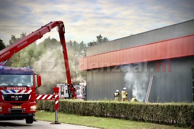 VIDEO: Brand bij Raab Karcher Oldenzaal