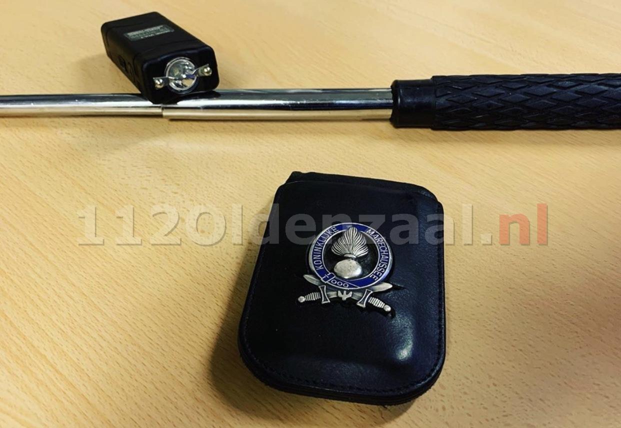 Ploertendoder en stroomstootwapen aangetroffen bij Duitser op de A1