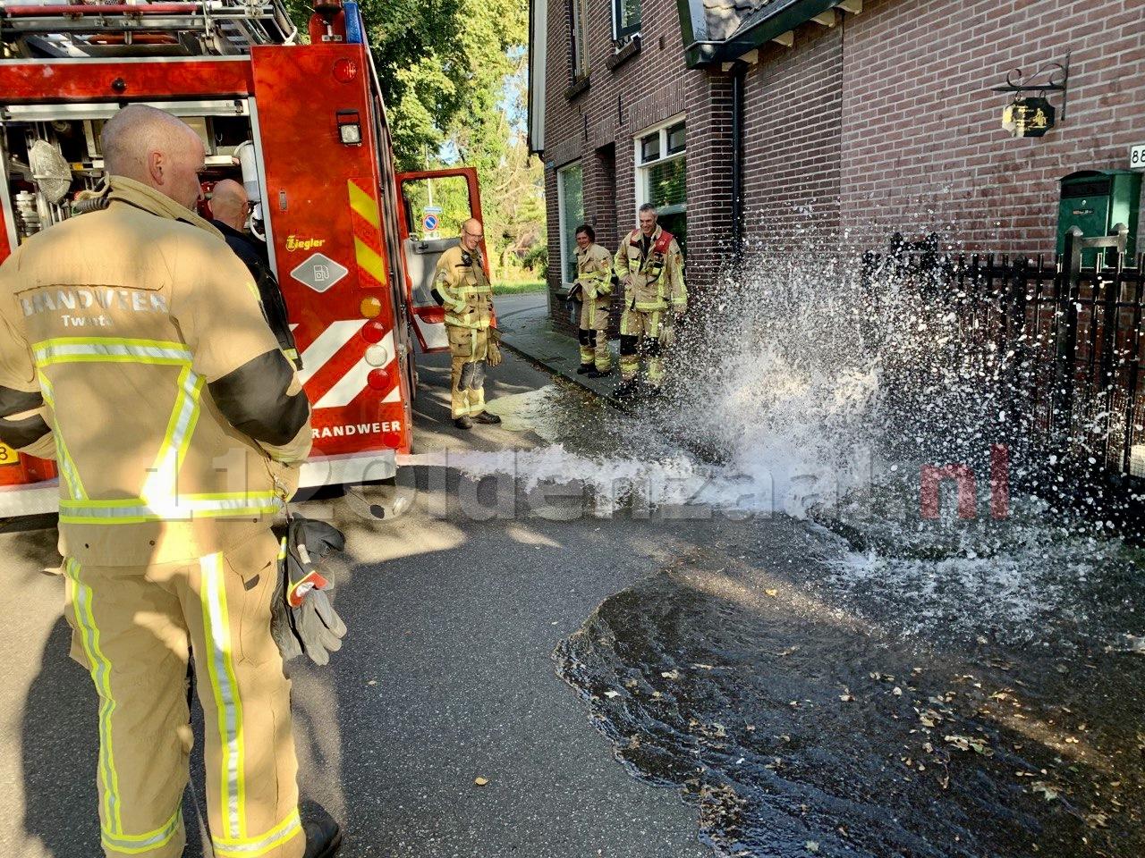Brandweer Oldenzaal rukt uit voor stank