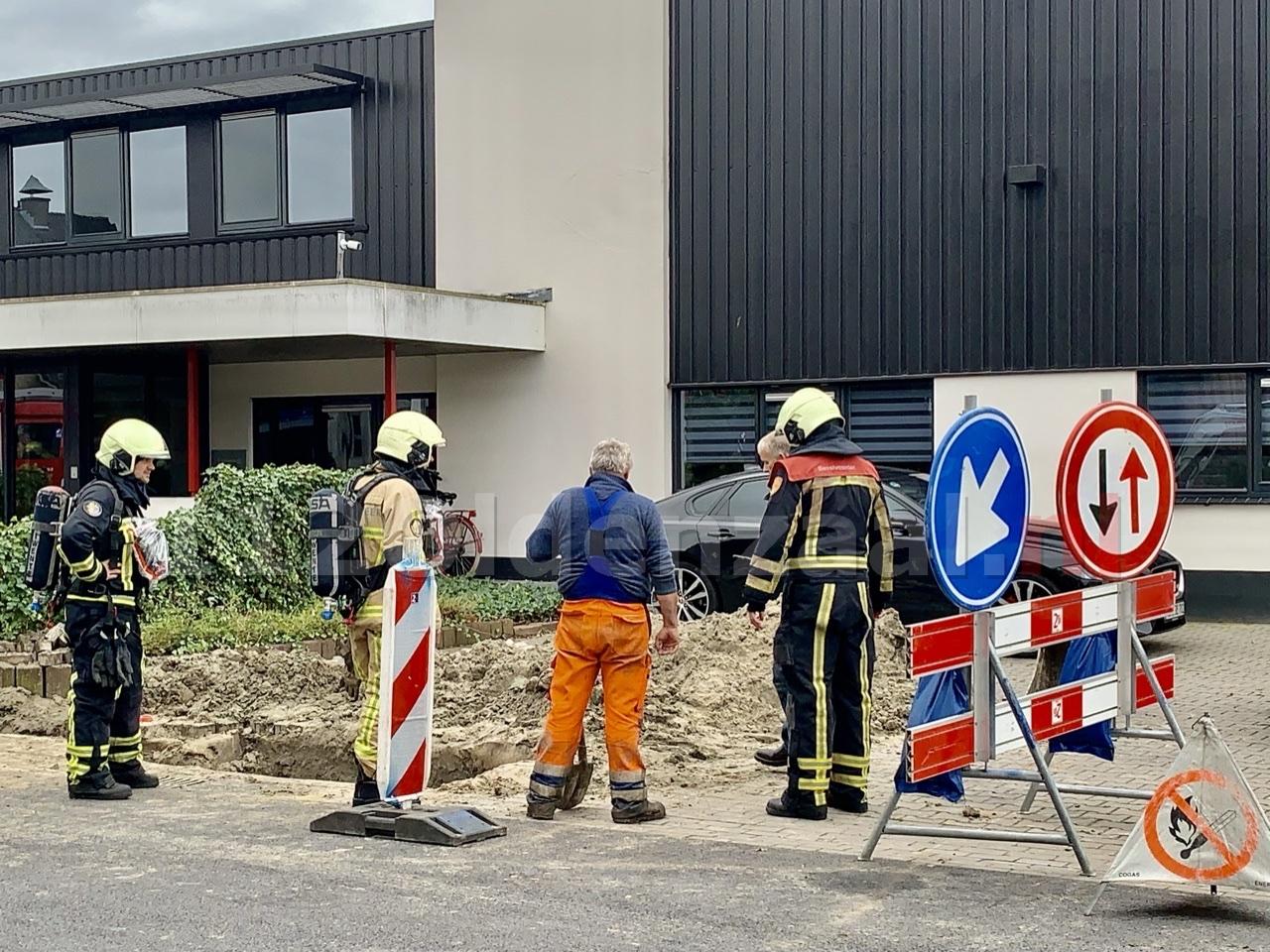 Gaslek bij werkzaamheden Oldenzaal