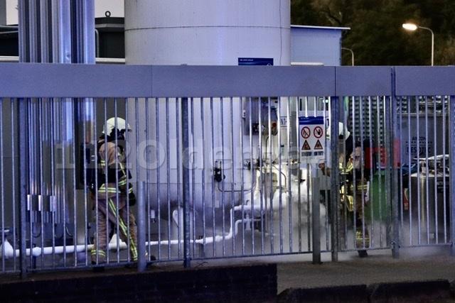 Brandweer opgeroepen voor stikstoflekkage industrieterrein Oldenzaal