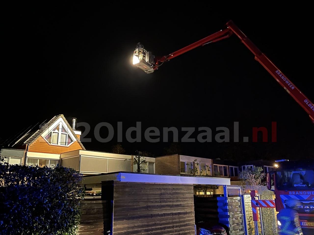 Brandweer rukt uit voor schoorsteenbrand in Oldenzaal