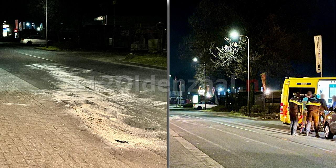 Gewonde bij eenzijdig ongeval Edisonstraat Oldenzaal
