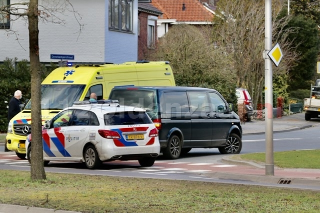Scooterrijder gewond na ongeval in Oldenzaal