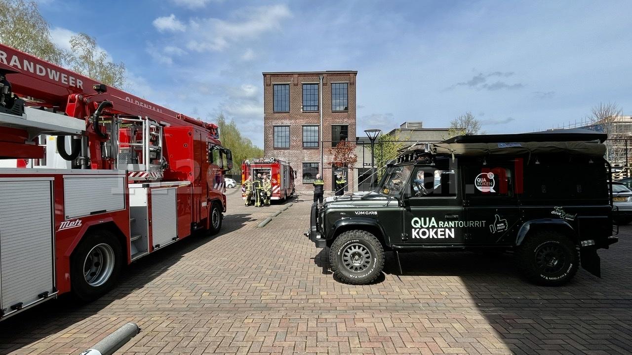 UPDATE: Keukenbrand bij restaurant QuaKoken in Oldenzaal