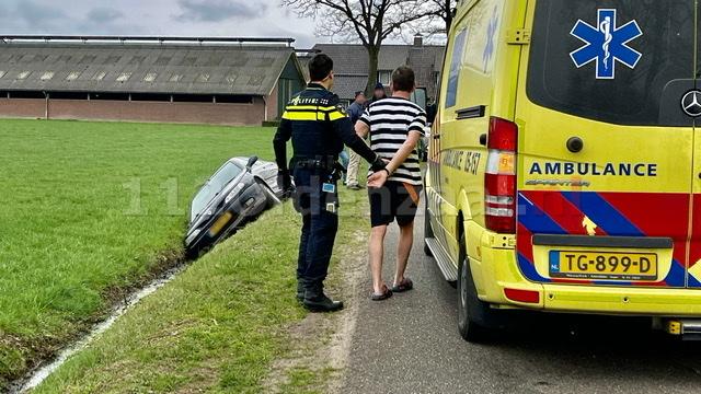 Man aangehouden na ongeval in Weerselo