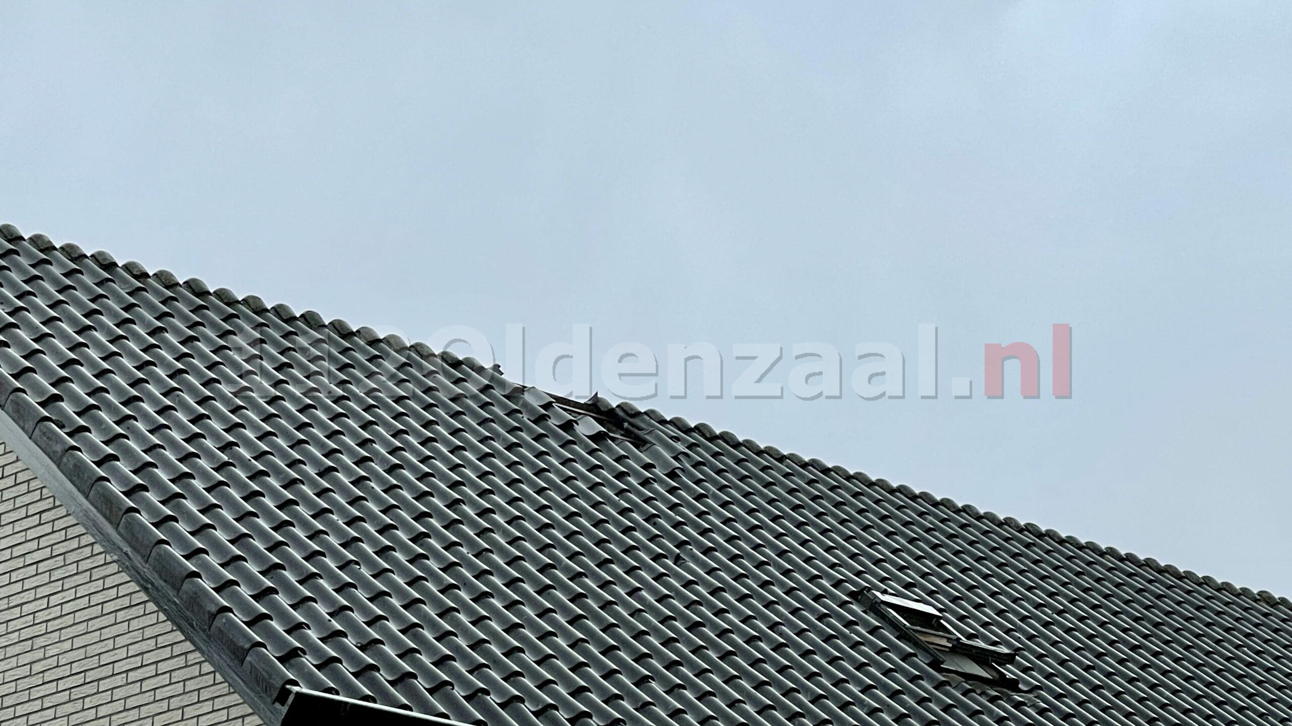Bliksem ingeslagen in woning Oldenzaal