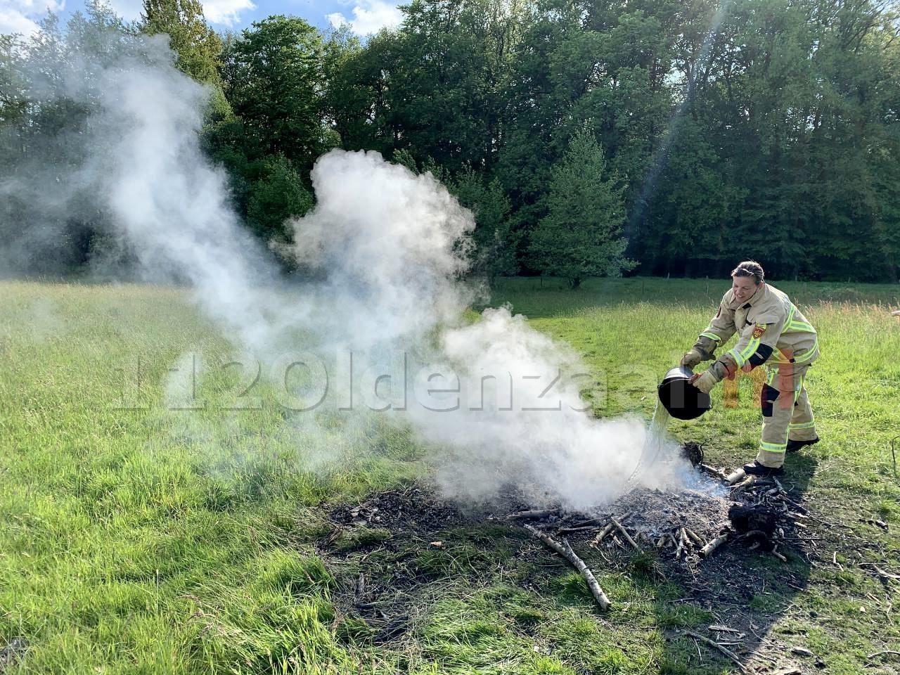 Melding buitenbrand aan Schapendijk Oldenzaal
