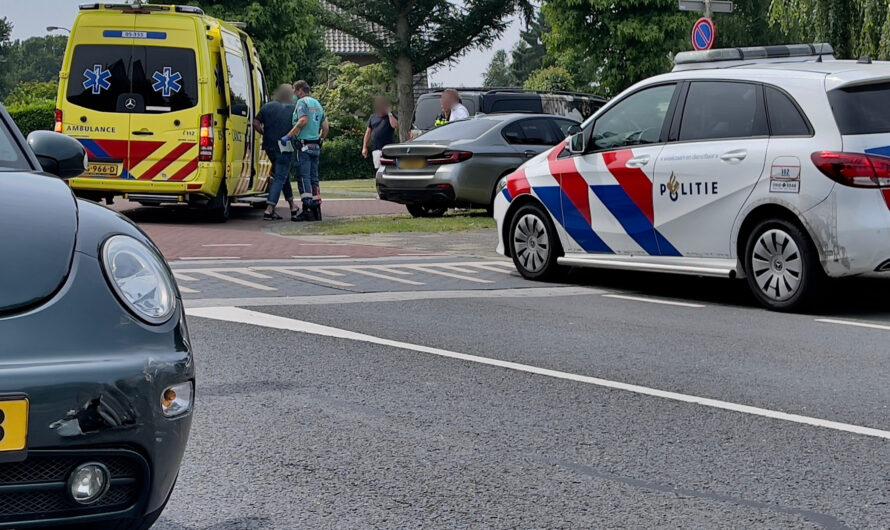 Ongeval tussen twee voertuigen op Zuid-Berghuizen Oldenzaal