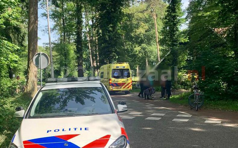 Fietsster gewond na val in Oldenzaal