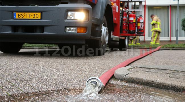 Brandweer rukt uit voor wateroverlast bij woonzorgcentrum in Oldenzaal