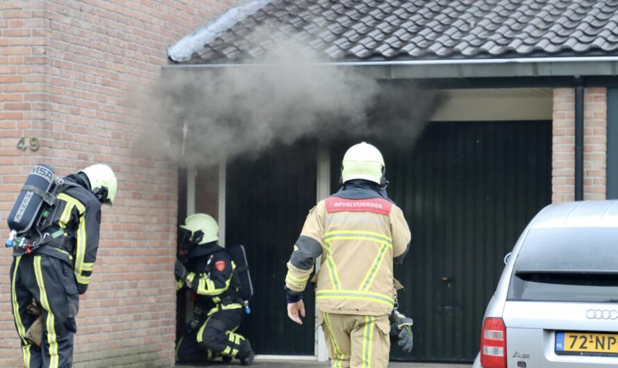 Forse woningbrand in Oldenzaal