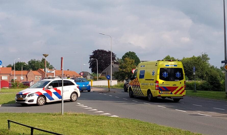 Scooterrijder gewond bij ongeval met auto