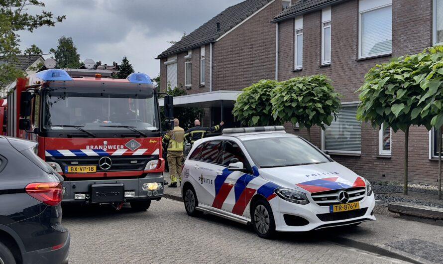 Hulpdiensten rukken uit voor brand in woning Oldenzaal