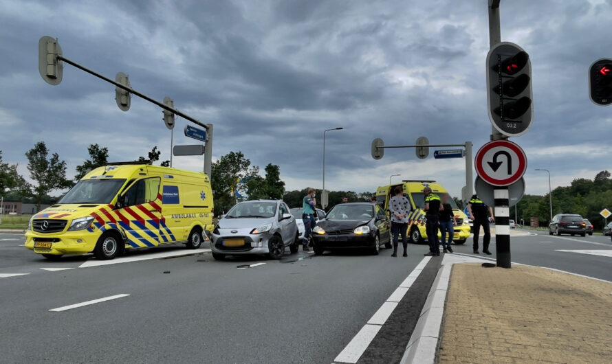 Gewonden bij ongeval op Provinciale Rondweg Oldenzaal